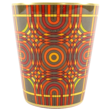 Hermes Spirographie Graphic Orange Candle