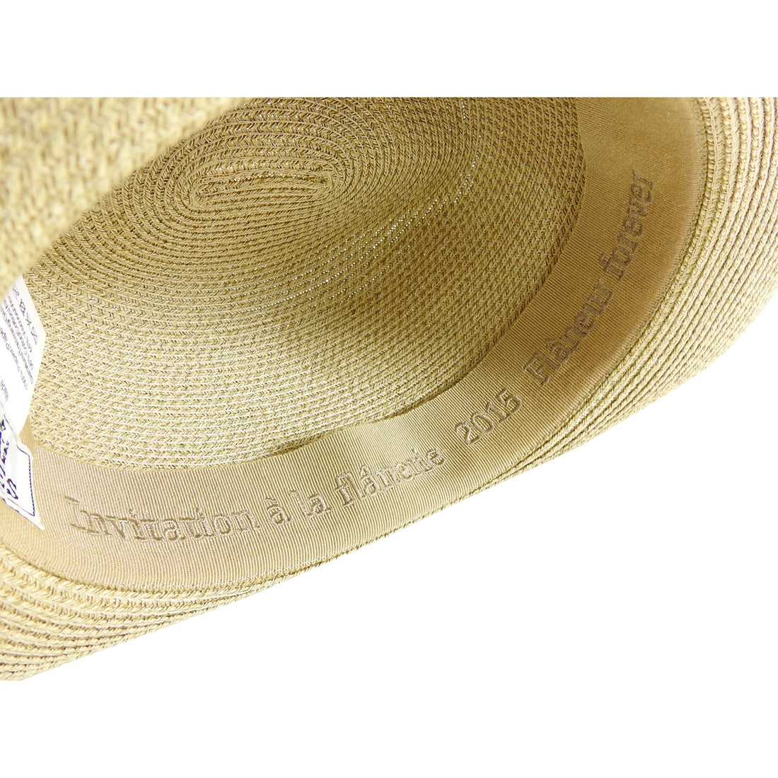 Hermes 2015 Invitation a la Flanerie Straw Hat