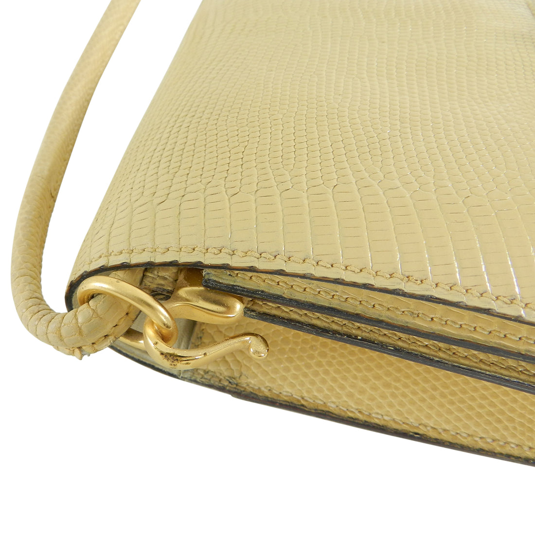 Hermes Vintage 1986 Lizard Sequana Bag