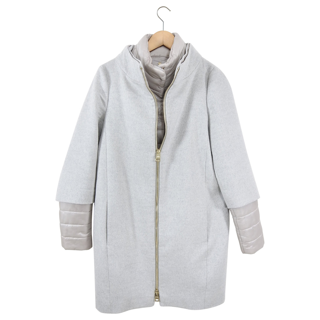 Herno 2 in 1 Cashmere Puffer Cocoon Coat - IT42 / 6