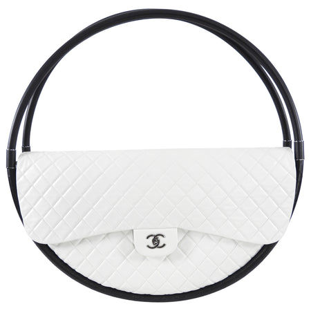 Chanel XL Runway Limited Edition Rare Hula Hoop Bag from SS2013