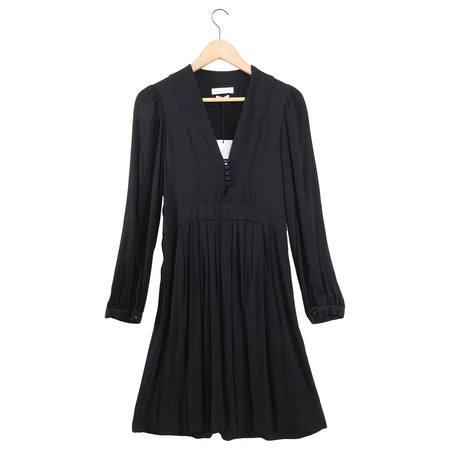 Isabel Marant Black Boho Neil Dress - FR36 / 4