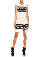 Isabel Marant Sandy Wrap Effect Mini Knit Sweater Dress - 2
