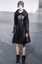 Junya Watanabe Comme des Garcons Spring 2013 Black Runway Nylon Zipper Coat