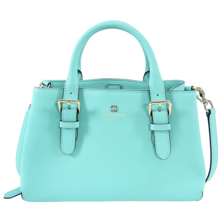 Kate Spade Small Turquoise Satchel Two-Way Bag