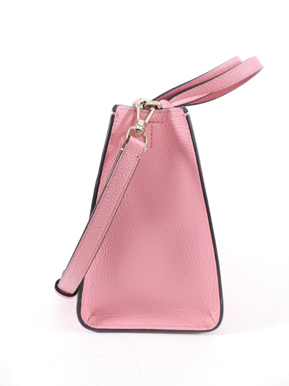 Kate Spade Small Pink Satchel Two-Way Bag with Pouch