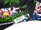 Kenzo Sea Lily Long Sleeve Multicolor Jersey Dress - L (8/10)