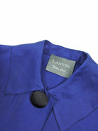 Lanvin Fall 2006 Silk Flared Evening Dress Coat - FR38 / 6