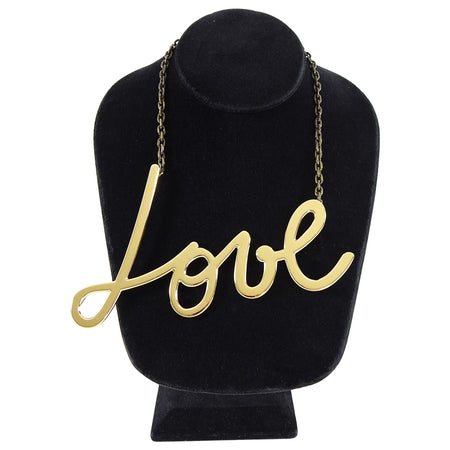 Lanvin Fall 2013 Runway Love Choker Hashtag Necklace