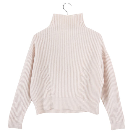 Le Kasha Light Shell Pink Verbier Cashmere Sweater - S (4/6)