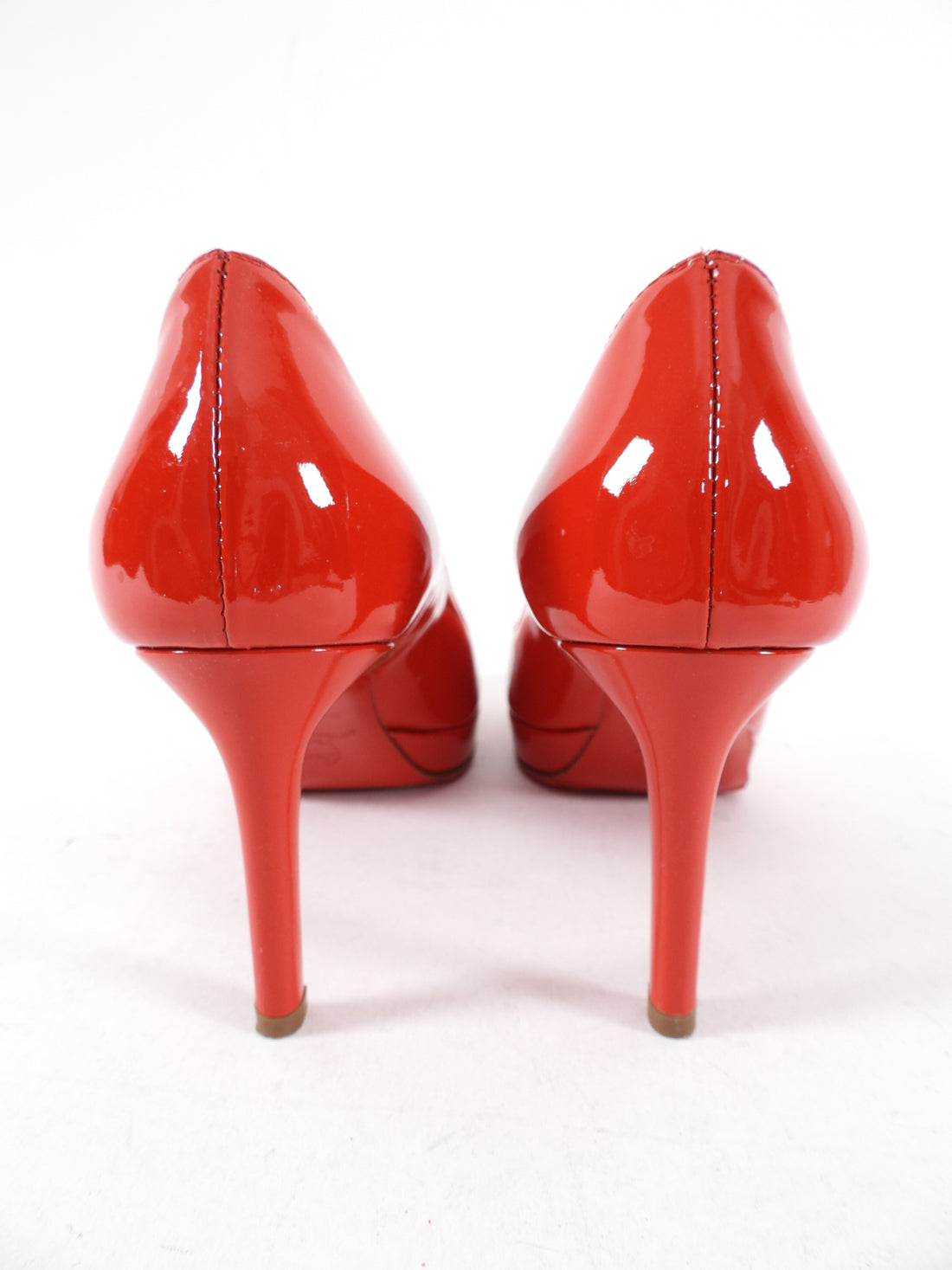 Christian Louboutin Red Patent New Simple 85 Pumps - 34.5