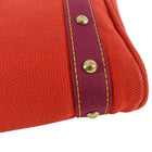Louis Vuitton Antigua Cabas Red Toile PM Bag