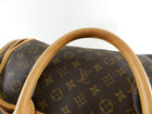 Louis Vuitton Monogram Canvas Sac Chien Train Case Bag