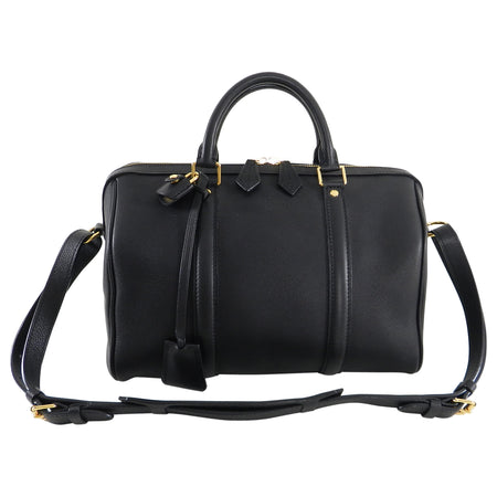 Louis Vuitton Black MM Sofia Coppola Boston Bag