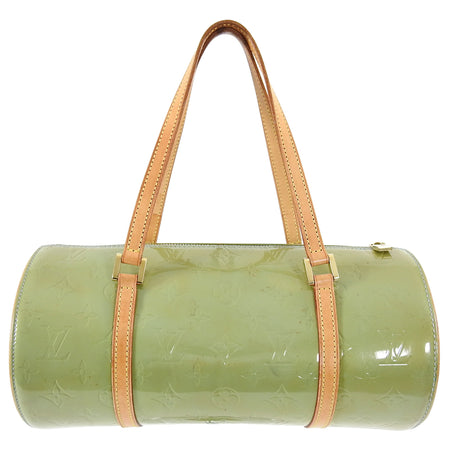Louis Vuitton Mint Green Vernis Bedford 30 Cylinder Bag