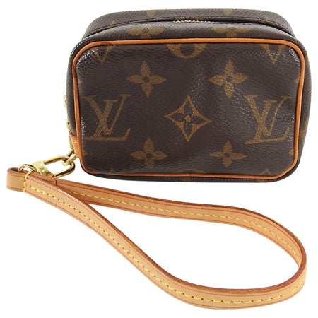 Louis Vuitton Monogram Micro Wapity Wristlet Micro Bag