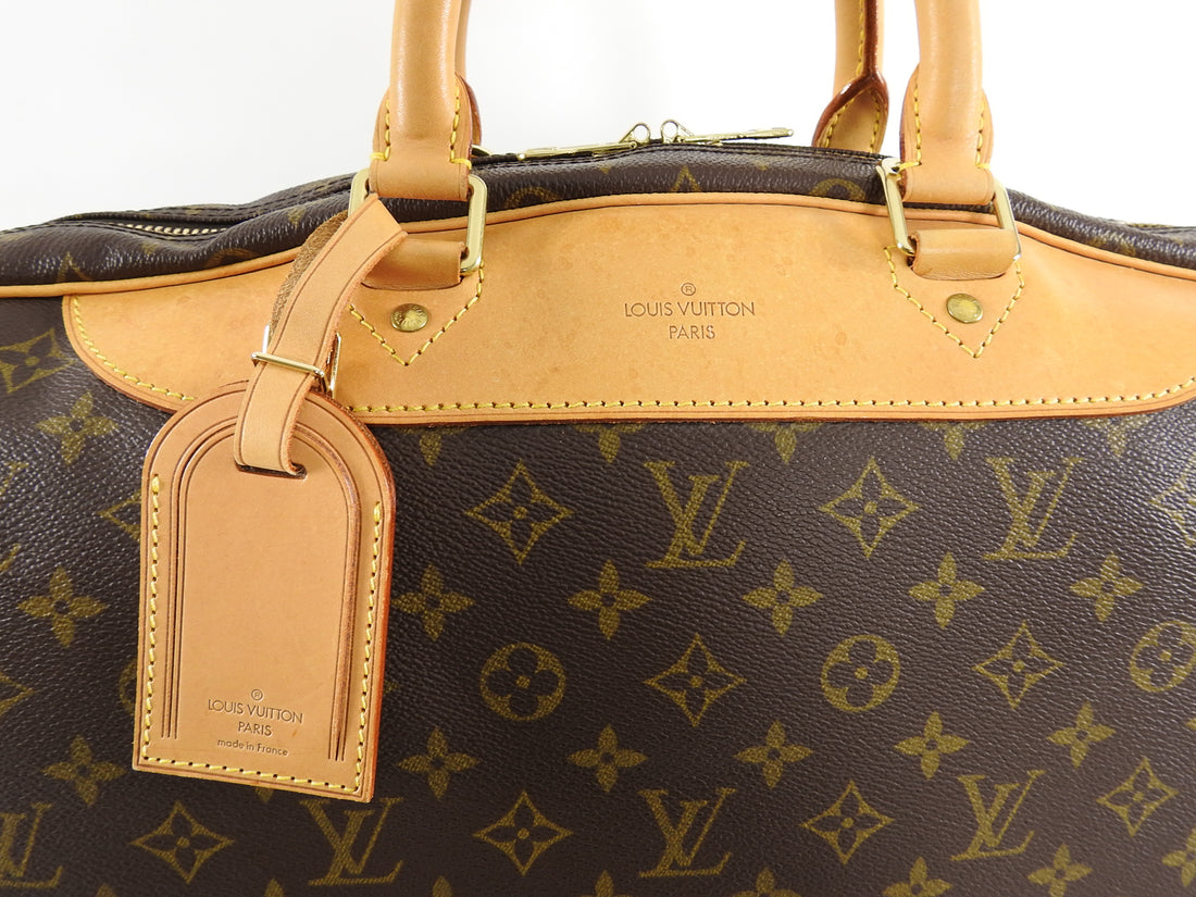 Louis Vuitton Alize 24 Heures Monogram Travel Luggage Carry On Bag