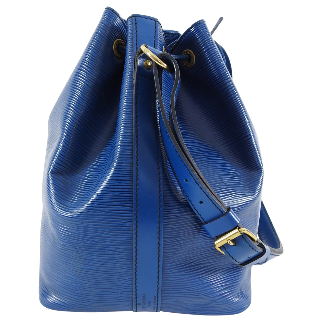 Louis Vuitton Vintage 1992 Blue Epi Petite Noe PM Bag