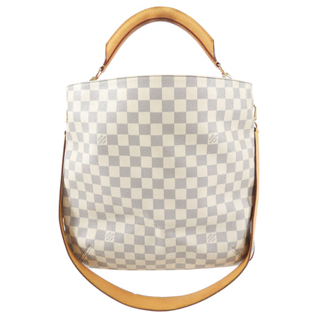 Louis Vuitton Damier Azur Soffi Two-Way Shoulder Tote Bag