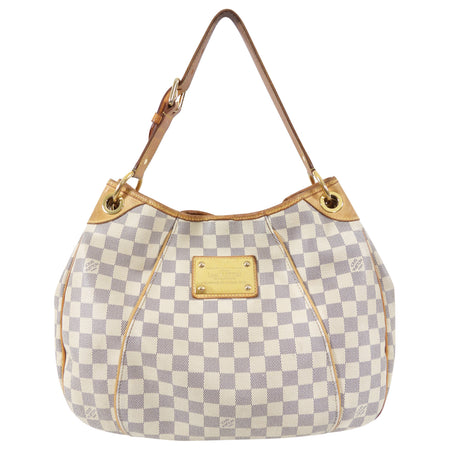 Louis Vuitton Damier Azur Galleria Shoulder Bag