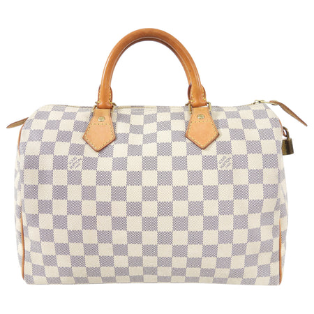 Louis Vuitton Damier Azur Speedy 30 Doctor Bag