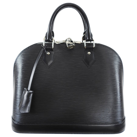 Louis Vuitton Epi Alma PM in Black and SHW