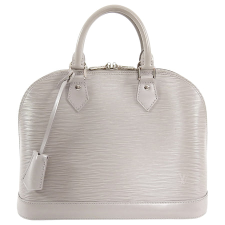 Louis Vuitton Epi Gris Grey Alma PM Bag