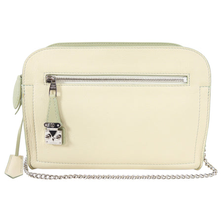 Louis Vuitton 2012 Cruise Ivory and Mint Green Leather Shoulder BagLouis Vuitton 2012 Cruise Ivory and Mint Green Leather Shoulder Bag