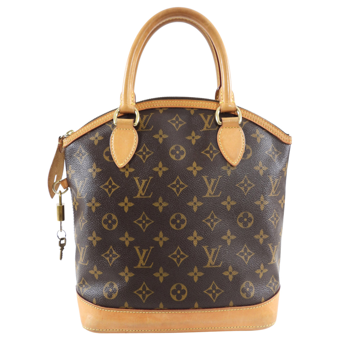 Louis Vuitton Monogram Lockit Vertical PM Handbag