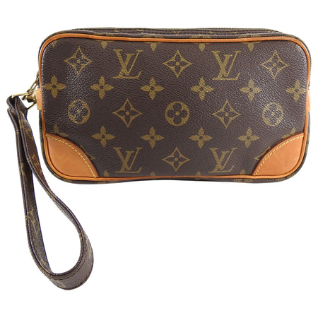 Louis Vuitton 1986 Monogram Marly Dragonne PM Wristlet Bag
