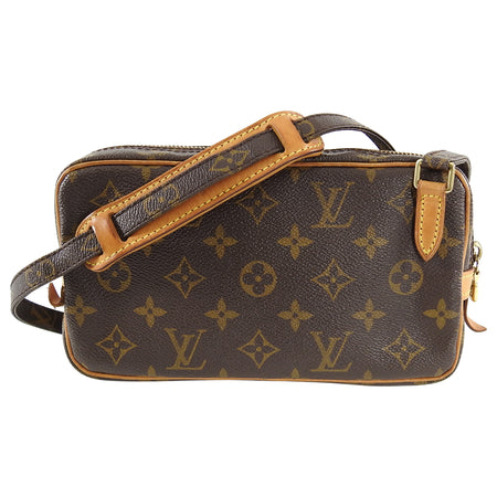 Louis Vuitton 2001 Marly Bandouliere Monogram Crossbody Bag