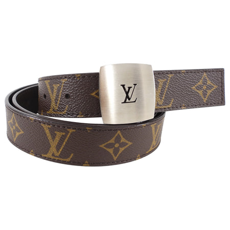Louis Vuitton Monogram LV Buckle Belt - 110 / 44