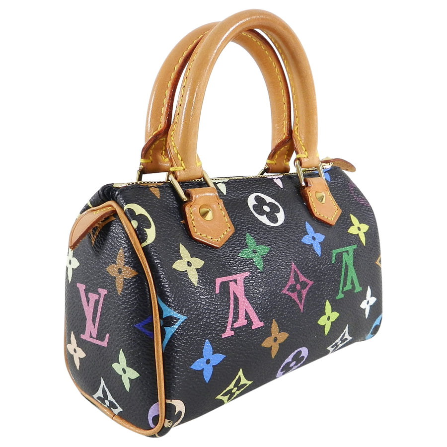 d8815e4ce761 Louis Vuitton Multi Monogram Mini Sac HL Speedy Black – I MISS YOU ...