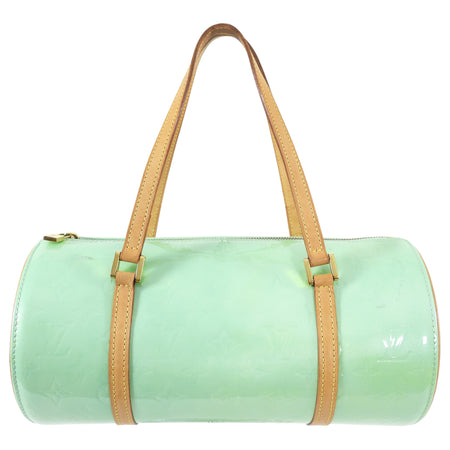 Louis Vuitton Mint Green Vernis Bedford 30 Barrel Bag