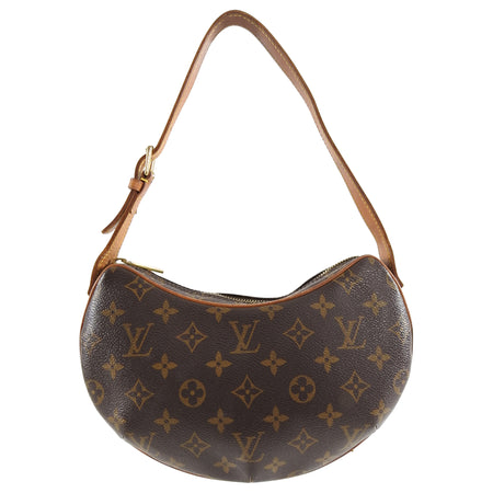 Louis Vuitton Monogram Small Croissant Shoulder Bag PM
