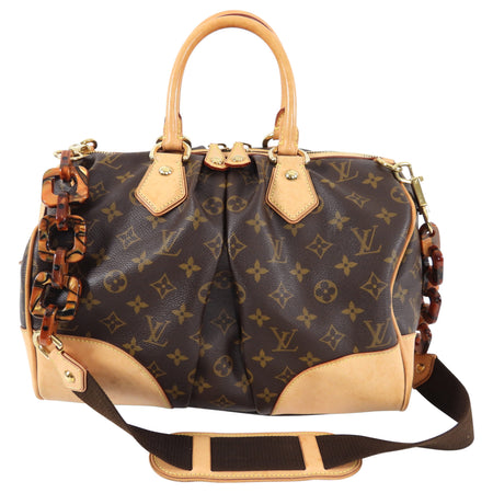 Louis Vuitton Limited Edition Monogram Stephen Boston Bag