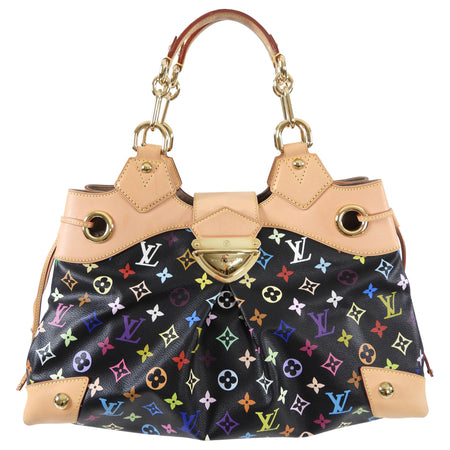 Louis Vuitton Multicolore Murakami Ursula Monogram Noir Bag