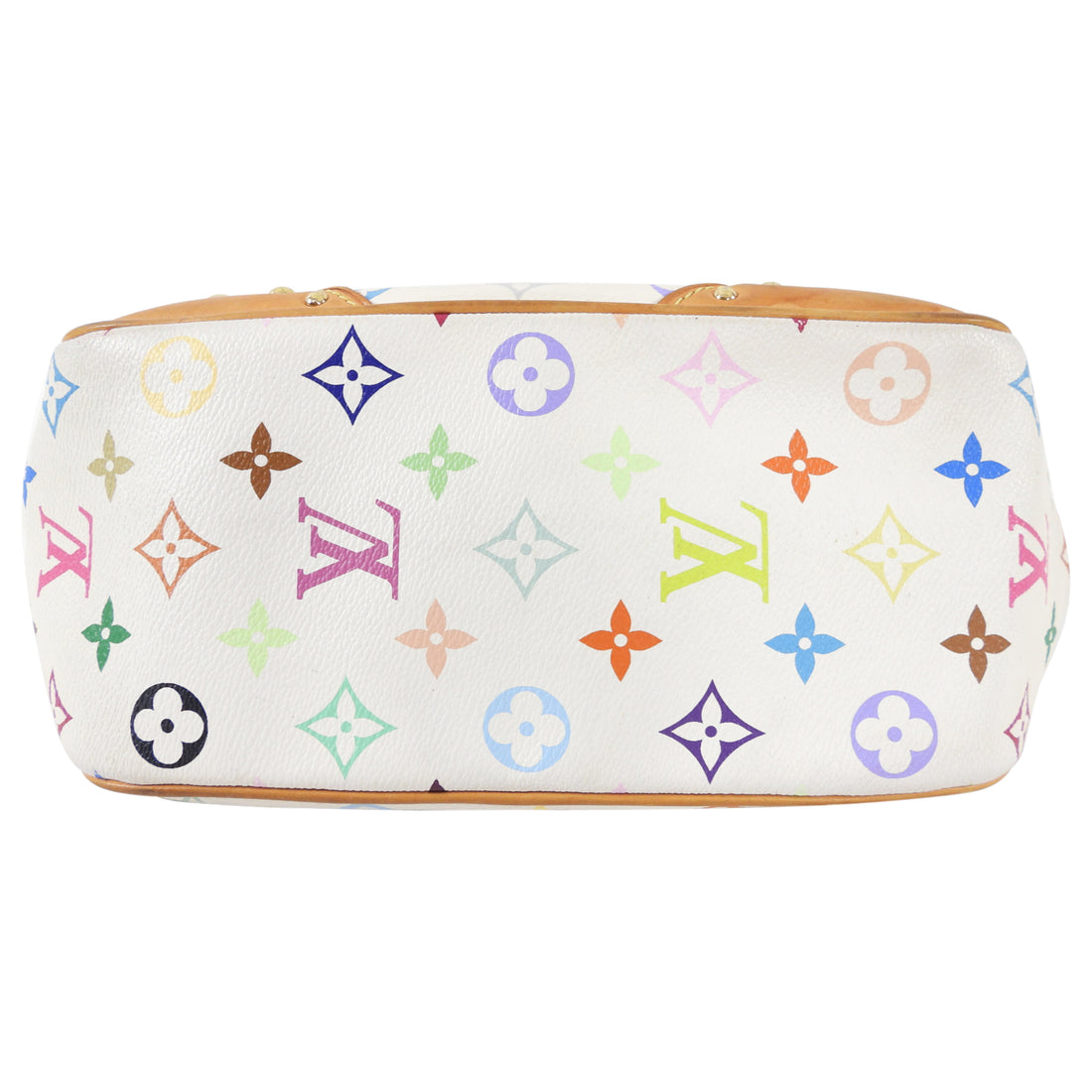 Louis Vuitton Murakami Multicolor White Marilyn Shoulder Pochette Bag