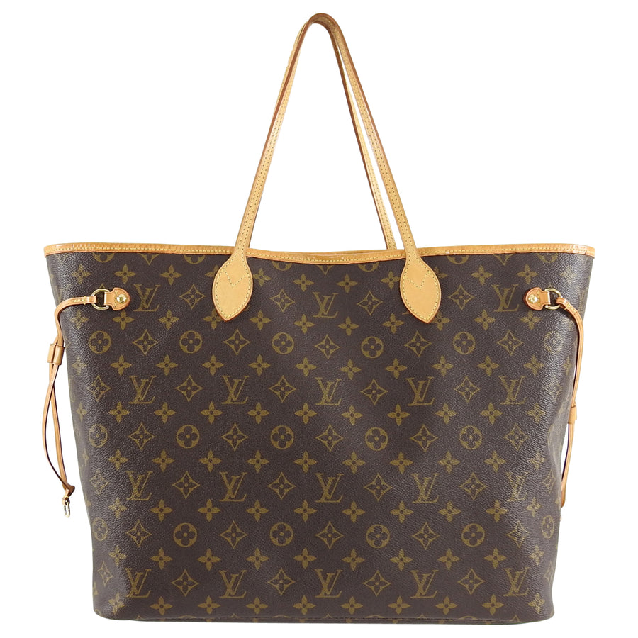 Louis Vuitton Neverfull GM Monogram Large Tote Bag
