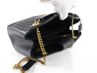 Louis Vuitton Black Quilted New Wave Chain Tote Bag