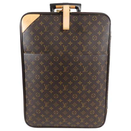Louis Vuitton Monogram Pegase 55 Rolling Travel Luggage