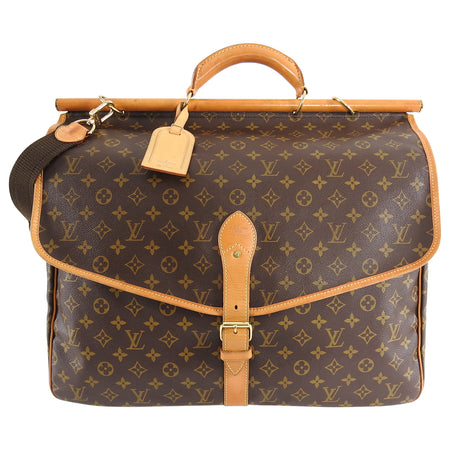 Louis Vuitton Monogram Canvas Sac Chasse Hunting Travel Bag