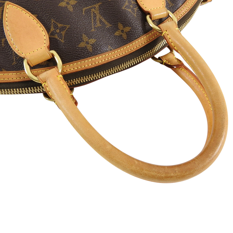 Louis Vuitton Lockit Vertical Monogram Double Handle Bag