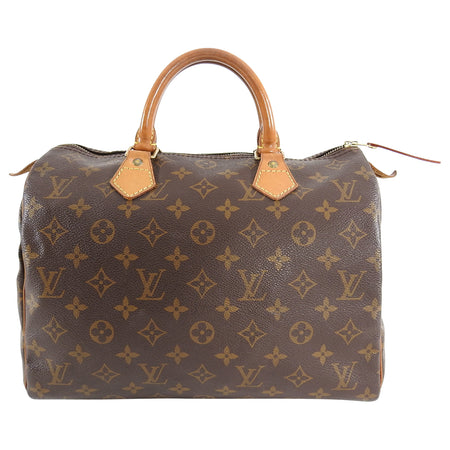 Louis Vuitton Vintage 1994 Monogram Canvas Speedy 30 Bag