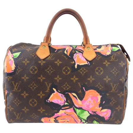 Louis Vuitton Stephen Sprouse Roses Limited Edition Speedy 30