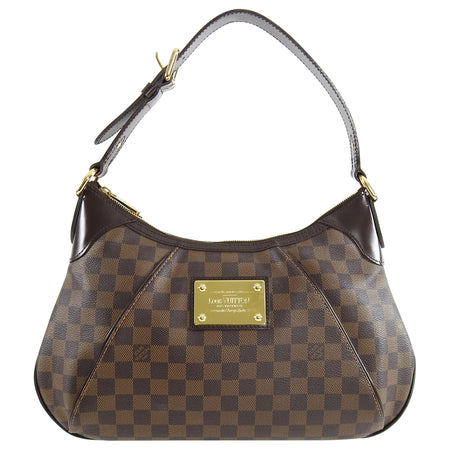 Louis Vuitton Damier Ebene Thames Shoulder Bag GM
