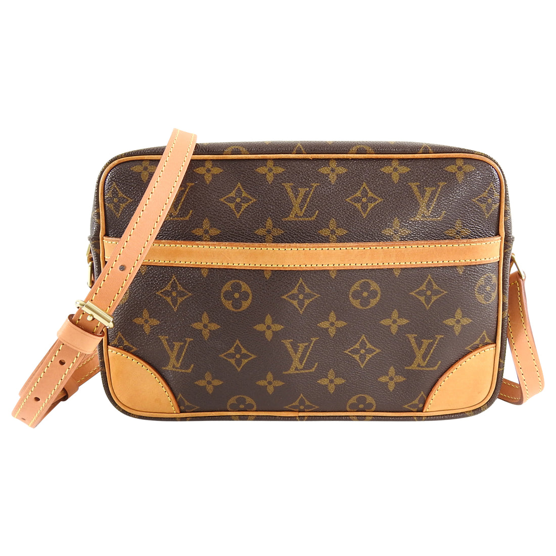 Louis Vuitton Monogram Trocadero 27 Crossbody Bag