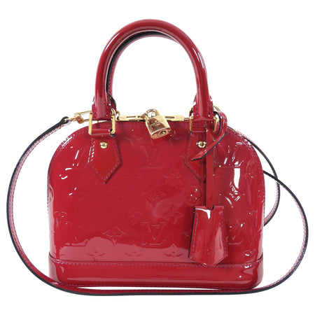 Louis Vuitton Alma BB Vernis Rose Indien Mini Bag