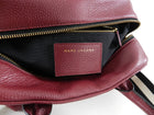 Marc Jacobs Dark Red Gotham City Bauletto Bag