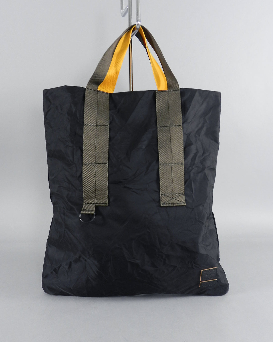 MARNI x PORTER Black Nylon Tote Bag